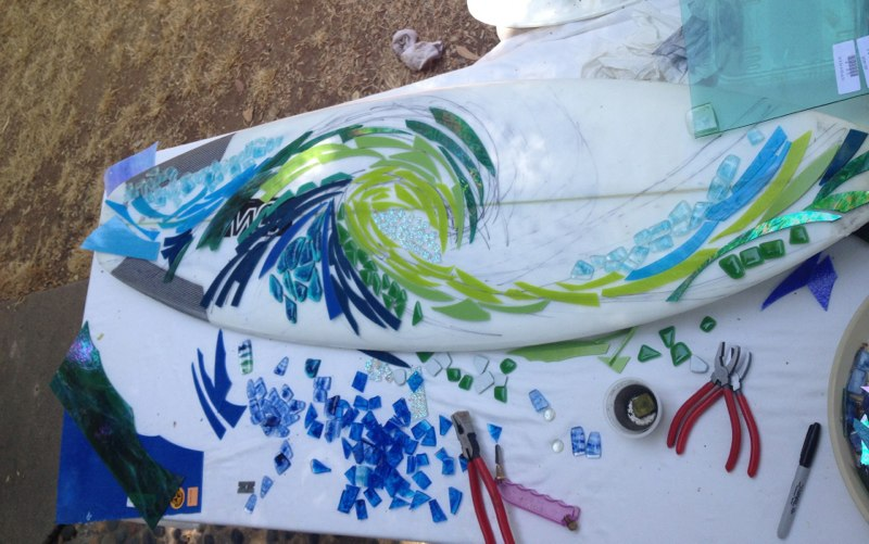 Designing the Mosaic Surfboard
