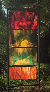 Garden Glass Vertical Panel
