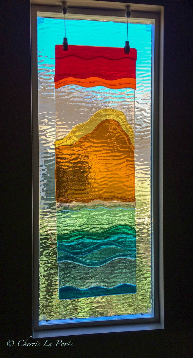 Dichroic Glass Art