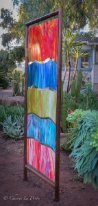 Glass Garden Panel sideview