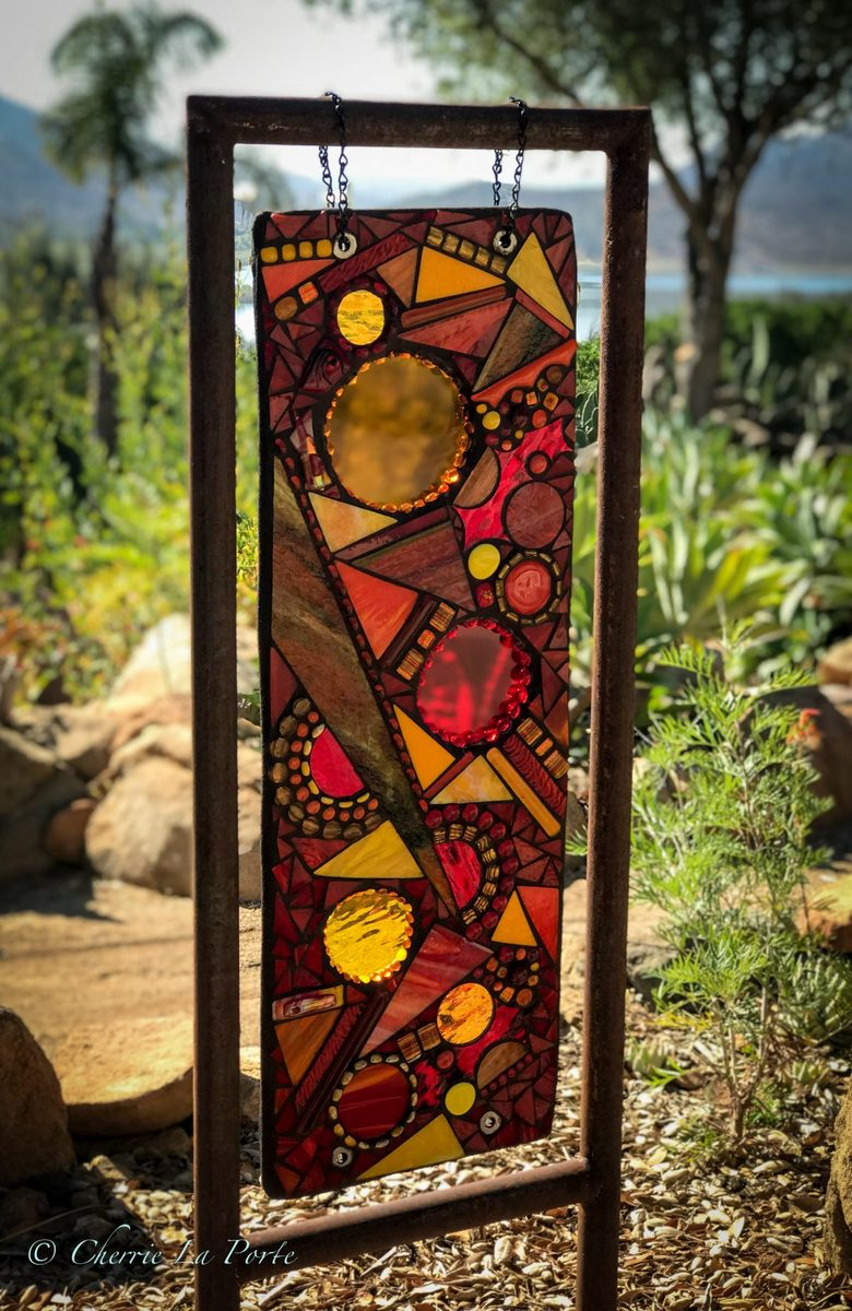 Outdoor Glass Sculpture | Cherrie LaPorte