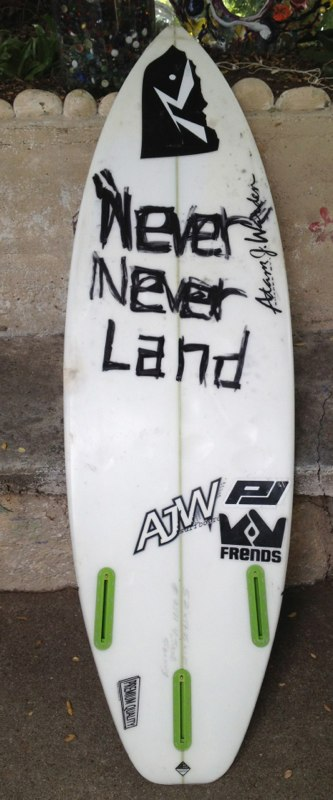 Recycled Surfboard