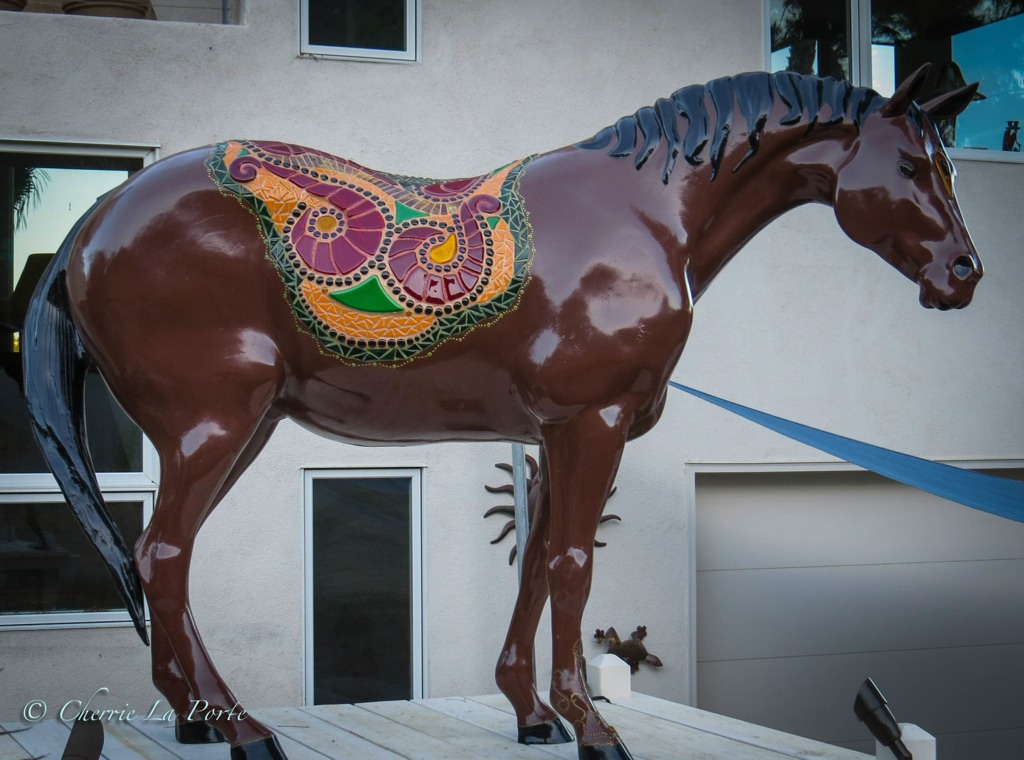 Sunset Jewel Horse - After
