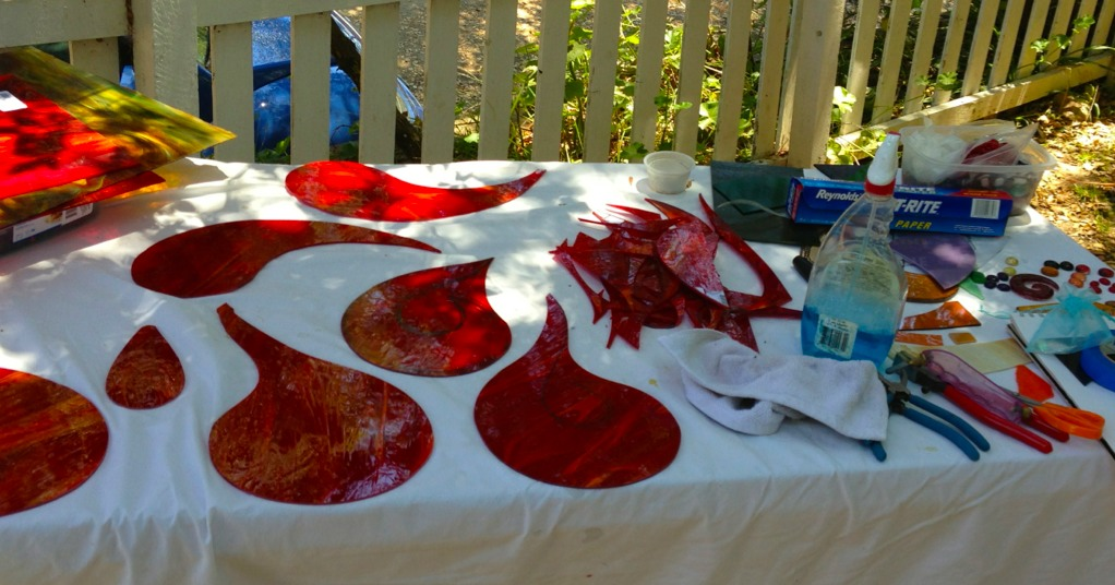 Fused Glass Shapes